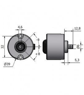 Compact wheel base 32 mm