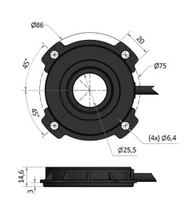 Sensore di velocità concentrico - A